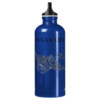 twin rays OCEAN LIFE Water Bottle