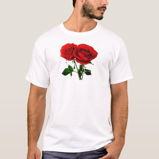 Twin Red Roses T-Shirt