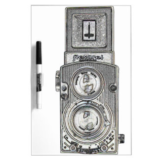 twin reflex TLR Camera Dry-Erase Board