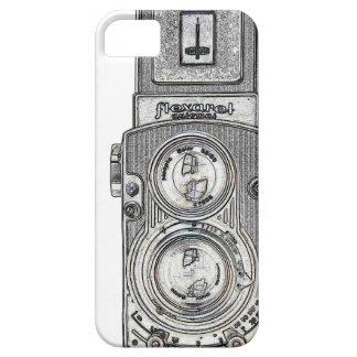 twin reflex TLR Camera iPhone SE/5/5s Case