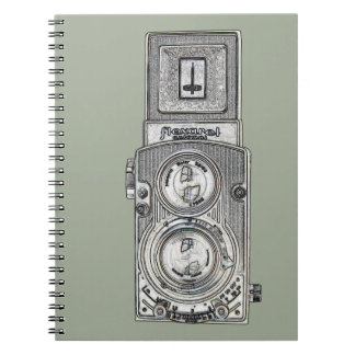 twin reflex TLR Camera Notebook