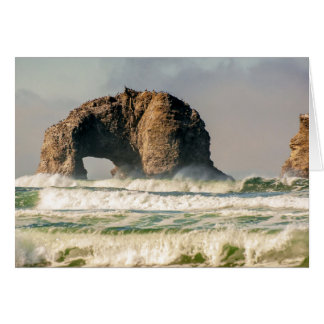 Twin Rocks Closeup Notecard