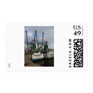 twin shrimp boat postage