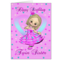 Love you twin sister gifts on zazzle bookmarktalkfo Gallery