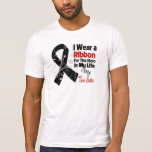 Twin Sister Hero in My Life Skin Cancer T-shirt