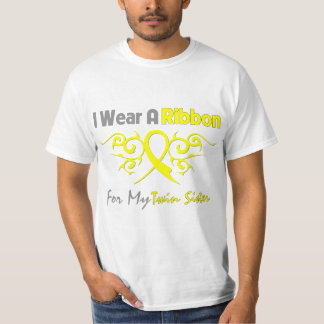 Twin Sister - I Wear A Yellow Ribbon Military Supp T-Shirt