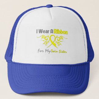 Twin Sister - I Wear A Yellow Ribbon Military Supp Trucker Hat