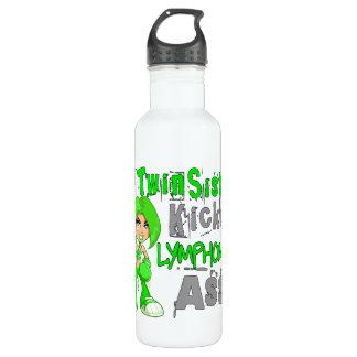 Twin Sister Kicked Lymphoma 42.9 Water Bottle