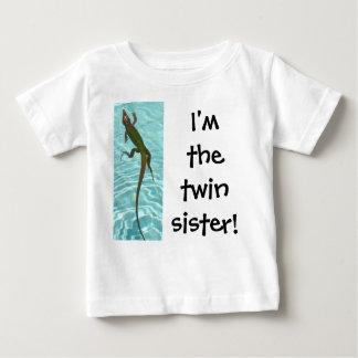 Twin Sister - Lizard Baby T-Shirt
