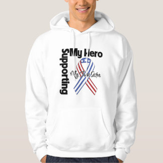 Twin Sister - Military Supporting My Hero Hoodie
