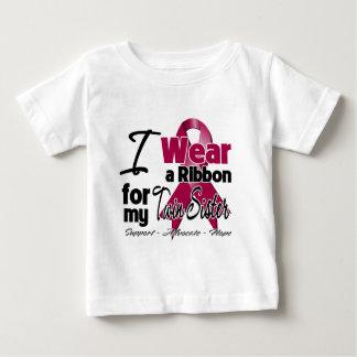 Twin Sister - Multiple Myeloma Ribbon T Shirts