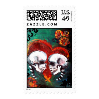 Twin Skull Stamps