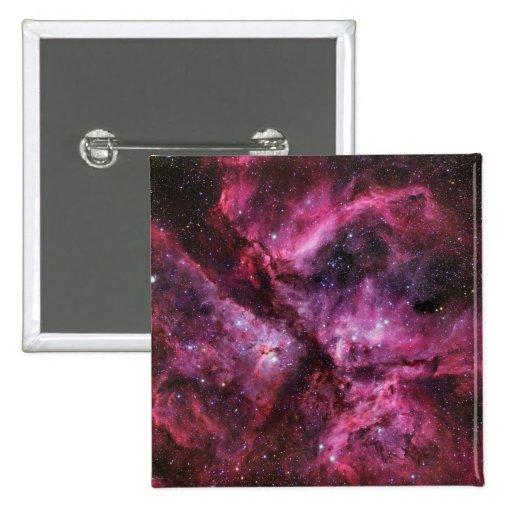 Twin Stars Eta Carinae Button