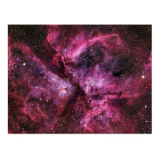Twin Stars Eta Carinae Postcard