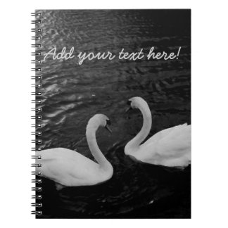 Twin Swans Notebook