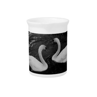 Twin Swans Pitcher