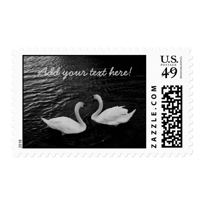 Twin Swans Postage