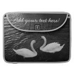 Twin Swans Sleeves For MacBooks