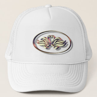 Twin Swans Trucker Hat