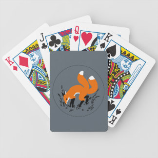 Twin Tails Bicycle Playing Cards