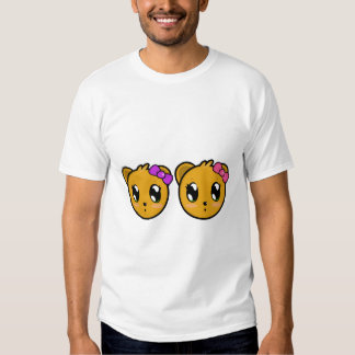 Twin Teddy Bear Girls T-Shirt