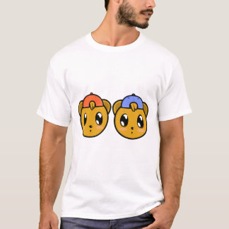 Twin Teddy Boy Bears T-Shirt
