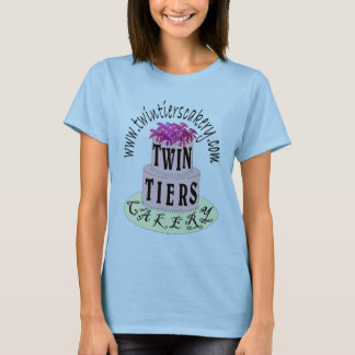 Twin Tiers Cakery Logo Shirt-Womens T-Shirt