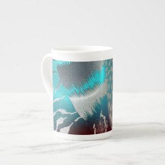 twin tone tea cup