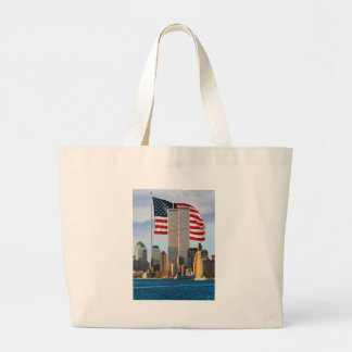 Twin Tower America Canvas Bags