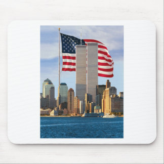 Twin Tower America Mouse Pad