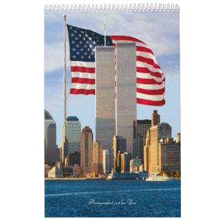 Twin Tower Power Calendar