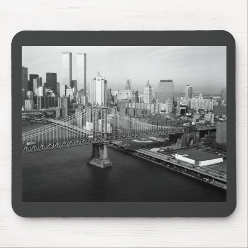 Twin Towers: 1991 Mouse Pad