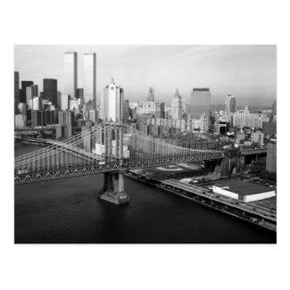 Twin Towers: 1991 Postcard