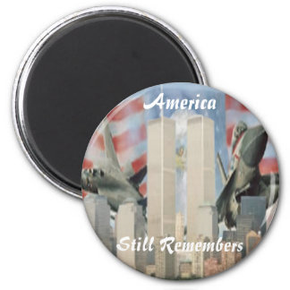 Twin Towers 9/11 Remembrance Magnet