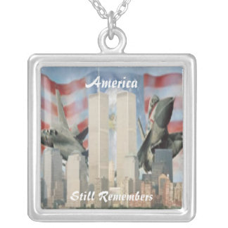 Twin Towers 9/11 Remembrance Necklace