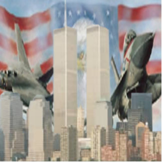 Twin Towers 9/11 Remembrance Photo Sculpture