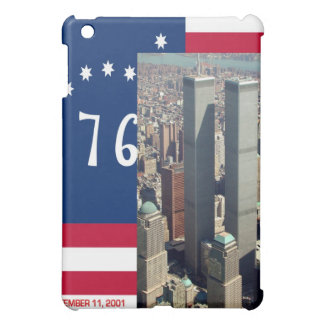 Twin Towers and Spirit of 76 US Flag iPad Case