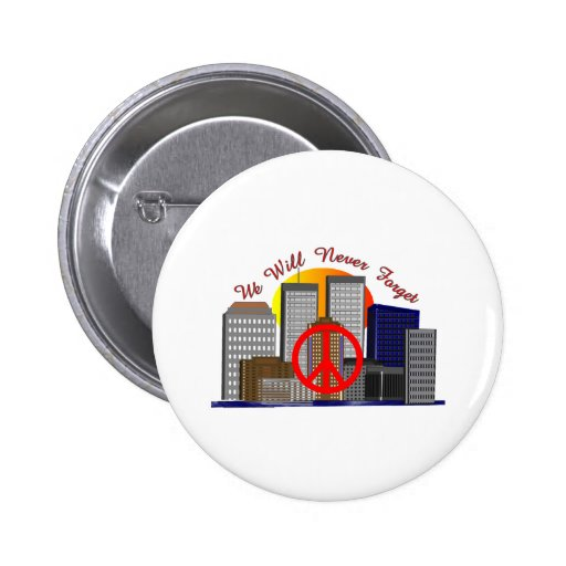Twin Towers Art Gifts for All Ages Pins