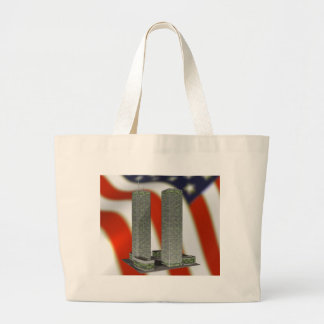 Twin Towers Canvas Bags