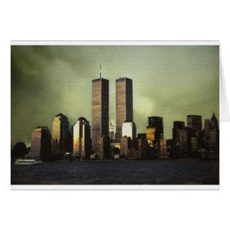 Twin Towers Card
