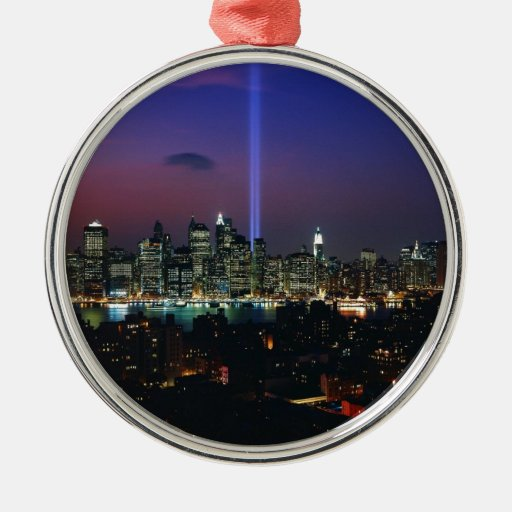 Twin towers christmas ornaments
