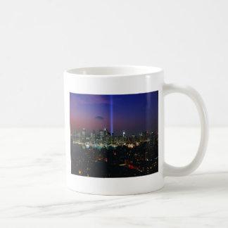 Twin towers coffee mug
