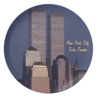 Twin Towers Dinner Plate