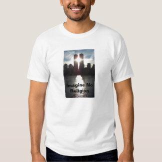 Twin Towers- Imagine No Religion Tee Shirt