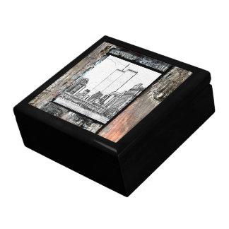 Twin Towers Keepsake Box