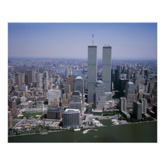 Twin Towers ,New York City Print