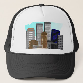 Twin Towers New York---Unique Art Gifts Trucker Hat