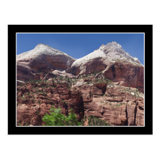 Twin Towers of the Virgin River, Zion Post Cards