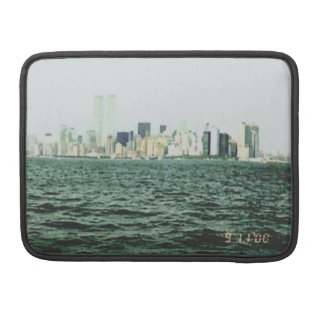 Twin Towers One Year Before 9/11 MacBook Pro Sleeves