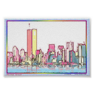 TWIN TOWERS POSTER